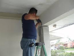 Overhead Door Ri by How To Install Garage Door By Yourself Theydesign Net