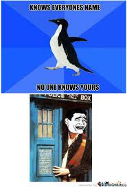 Socially Awkward Penguin Memes - rmx socially awkward penguin by someforeignguy meme center