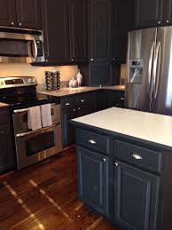 graphite chalk paint kitchen cabinets kitchen painted using chalk paint decorative paint by