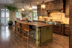 country kitchens ideas country kitchen decorating ideas with wooden floor and pendant