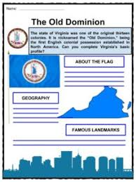 state of virginia facts worksheets u0026 history for kids