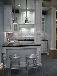 small condo kitchen ideas condo kitchen subway tiles plus legs on bar for a