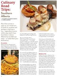cuisine complete but culinairy road trips alberta magazine publishers association