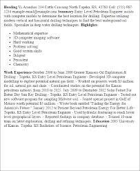 entry level resume templates ellie vargo master resume writer and executive coach entry level