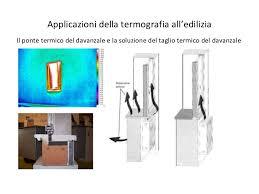 ponte termico davanzale thermography