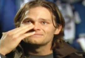 Brady Crying Meme - tom brady cries during interview video ebaum s world