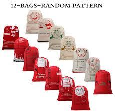 amazon com christmas sack from north pole large christmas present