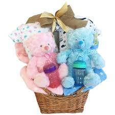 gift baskets canada baby girl and baby boy gift basket simontea gifts canada