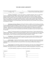 confidentiality non disclosure agreement mutual obligation