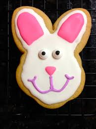 Decorated Easter Bunny Cookies by Sugar Cookie Decorating Baking In The Sky With Diamonds