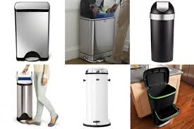 the best kitchen trash cans 2017 annual guide apartment therapy