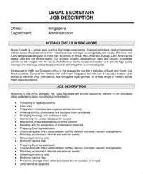 Sample Resume For Legal Secretary by Secretary Cover Letter Receptionist Resume Secretary Resume