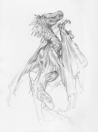 artstation dragon drawings taylor fischer