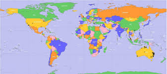 map of workd world map with where is on the besttabletfor me for