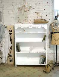 bookcase shabby chic white bookshelves simply shabby chic small