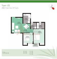 unitech uniworld gardens 2 floor plan floorplan in