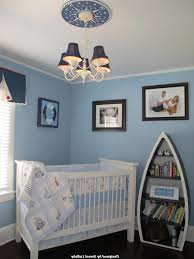 nautical baby room floor to ceiling drapery wooden 1 drawer