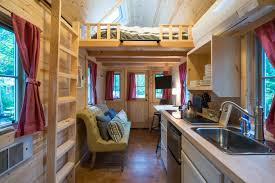scarlett tiny house tour this adorable rental available at mt