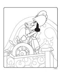 kids fun 9 coloring pages jake land pirates