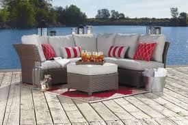 Walmart Canada Patio Furniture by Ensemble De Canapé D U0027angle Rushreed De 3 Pièces Pour Terrasse Par