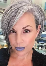 255 Best Shades Of Grey Images On Pinterest Grey Hair Blonde