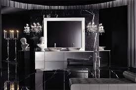 black and silver bathroom ideas magnificent italian style black bathroom with terrific silver
