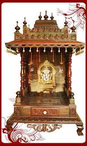 pooja mandapam designs designer puja mandap wooden puja mandap manufacturer from bengaluru