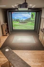 simulation room pro golf simulation room cmi construction cmi construction