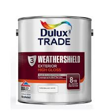 dulux trade weathershield exterior high gloss paint products
