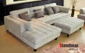 modern microfiber sectional sofa foter