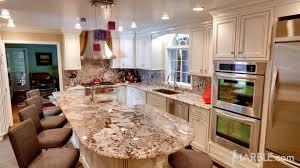 granite countertop off the shelf kitchen cabinets marble