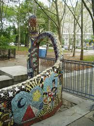 gaudi in new york a broken tile mosaic masterpiece riverside