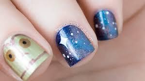 star wars nail art obviously the nailasaurus uk nail art blog
