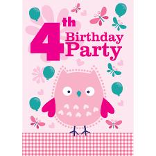 4th birthday party invitation alanarasbach com
