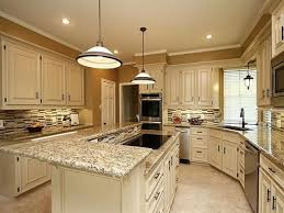 Backsplash Ideas For Kitchens With Granite Countertops Santa Cecilia Granite White Cabinets Backsplash Ideas Inspiration