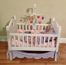Ebay Crib Bedding Sets by Great Complete Retired American Bitty Baby Crib Canopy Mobile