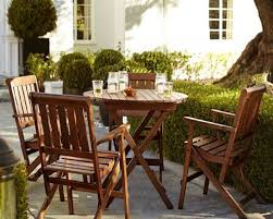 Comfy Patio Chairs Apply These Bistro Sets From Pottery Barn Patio Furniture To
