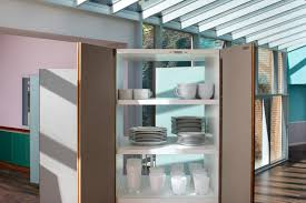 Fair 60 Cyan Kitchen Interior by Postmodern Silicon Valley Home Designed By Ettore Sottsass Asks