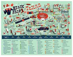 Cedar Fair Parks Map Your Guide To The State Fair Of Texas 2015 Week 2 D Magazine