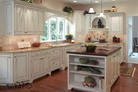 french country kitchens kitchen with glass buffets on each side