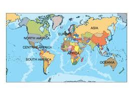 Image Of World Map Ppt World Map Targer Golden Dragon Co