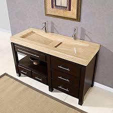 Double Sink Vanity 48 Inches 48 Inch Bathroom Vanity With Top And Sink Genersys