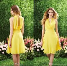 yellow country style bridesmaid dresses u2013 dress fric ideas