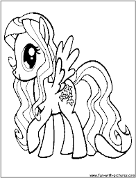 lilyblossom coloring page