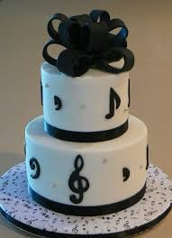 musical inspired cakes musical themed birthday cake u2014 other