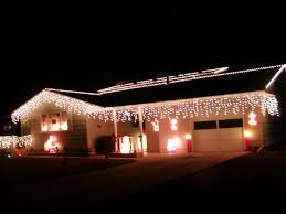 Outdoor Icicle Lights Outdoor Icicle Lights 3 Photo Yard Decor Pinterest