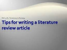 The review of the literature  Session outline Purpose of a     Outline for a research paper mla style