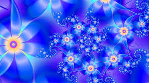 Blue Flower Backgrounds - hd flower wallpapers group 84