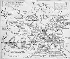 Fort Gordon Map Coosawattee