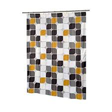 Shower Curtain Long 84 Inches Amazon Com Carnation Home Fashions Metro Extra Long Printed